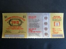 Illinois Instant Lottery Ticket, First game issued 1976