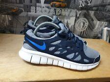 Nike Free Run 2 Men's Blue And Grey Trainers Size UK 6 EU 40.