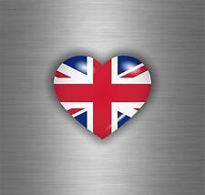 Sticker adesivi adesivo moto auto jdm bomb tuning bandiera cuore uk inglese