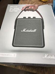 Marshall 1001898 Stockwell II Black Active Stereo Bluetooth Speaker (box Not Per