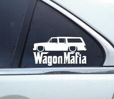 Lowered WAGON MAFIA sticker - for Chevrolet Suburban 1973-1991 classic chevy