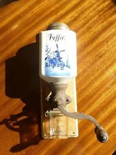 JBW Germany Delft Blue White Coffee Grinder Wall Mount