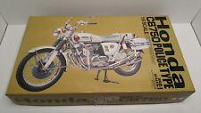 Vintage Tamiya Honda CB750 Police Type Motorcycle Model Kit Large 1:6 1972 HTF