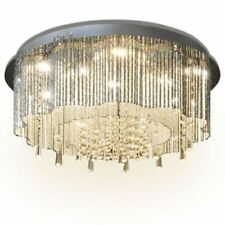 Thread LED Crystal Ceiling Lights & Chandeliers