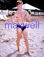 MAXWELL CAULFIELD #2688,BARECHESTED,SHIRTLESS,barefoot,GREASE 2,the colbys