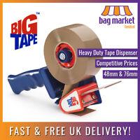Heavy Duty Big Tape™ Tape Dispenser Gun | 48mm / 76mm Core | Box/Packing/Parcel