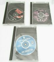Lot Of 3 Sega Saturn Games BlackFire, independence day, And Space Jam Loose disc