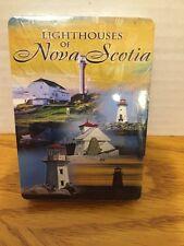 Lighthouses Of Nova Scotia Deck Playing Cards  NIP