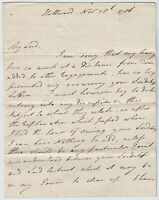 WILLIAM PITT the Younger. Autograph Letter Signed, November 1786