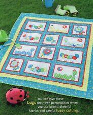 Doodle Bugs Quilt Pattern Pieced/Applique KD