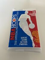 1989 NBA Hoops Basketball Unopened Pack Michael Jordan All Star On Top HOF Bulls