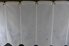 m/€ 16,90 Scheibengardine Gardine Bistrogardine 11454 Möwe Maritm 50 cm hoch