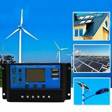 A 12 V / 24 V LCD Intelligenz Auto Regulieren PWM Solar Batterie Laderegler X9E5