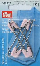 PRYM Spille di sicurezza per bambini acciaio inossidabile 55 mm rosa 086102