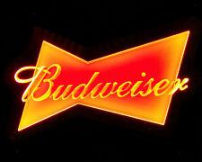 "Ld014 Budweiser Beer Bar Pub Shop Display Led Light acrylic Sign 11.75""x7.5"" new"