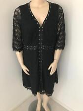 WOMENS CITY CHIC BLACK GIGI LUXE DRESS PLUS SZ XL  NEW WITH TAG
