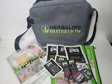 Herbalife Tote Bag Messenger Bag Brand New Grey Lime Green Promotional Material