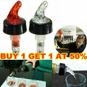 25/30/35ML Quick Shot Spirit Measure Bottle Pourer Bar Wine Cocktail Dispenser
