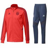 Adidas Fußball FCB FC Bayern München Herren Trainingsanzug 2019/20 Jacke Hose ro