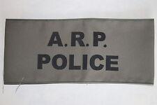 WW2 HOME FRONT ARP AIR RAID PRECAUTIONS A.R.P. POLICE ARMBAND QUALITY COPY #1