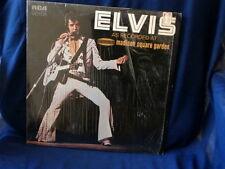 ELVIS PRESLEY~ AS RECORDED AT MADISON SQUARE GARDEN ~ELVIS PRESLEY ~  ~ LP