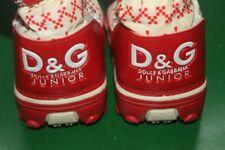 Designer D&G Dolce & Gabbana Junior Snow Boots EUR 27/28 - UK size 8/10 Winter