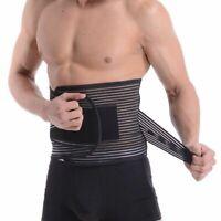 Breathable Lumbar Support Lower Back Brace Belt Postur Waist Trimmer Pain Relief
