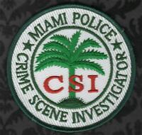 SAN ANTONIO TEXAS TX Crime Scene Investigator CSI POLICE PATCH