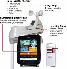 AcuRite 01022M Pro Station 5 in 1 Weather Station with Lightning Detection