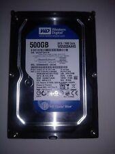 "Disco duro Western Digital 500 GB Caviar Blue de 3,5"" caché 16 MB 7200 R.P.M."