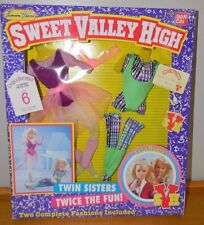 Vintage Ban Dai Sweet Valley High Twin Sisters Let's Dance Fashions NRFB #721