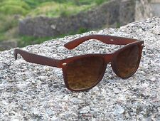 Wayfarer Style man-woman Sunglasses in Brown Shade with case (Goggles)
