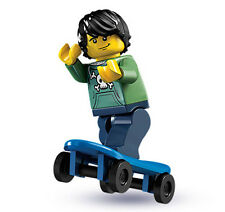 NEW LEGO SERIES 1 SKATER MINIFIG collectible minifigure figure 8683 no bag boy