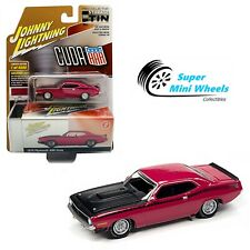 Johnny Lightning 2020 Collector Tin - 1970 Plymouth Aar Cuda (Moulin Rouge) 1:64