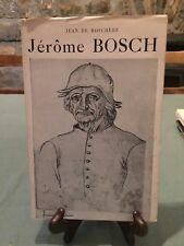 Jérôme Bosch - Jean de Boschère - 1947 - cercle d'art - B10