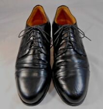 Enzo Angiolini 068 Mens Casual Shoes Size 10 M Lace Up Cap Toe Oxford  Black
