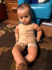 """Vintage 1940's R & B 22"""" baby doll - eyes open/close"""