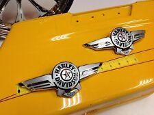 NEW 2018 Genuine OEM Harley Softail Fatboy Touring Gas Fuel Tank Emblems