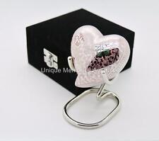 Regal Multicolour Butterfly Keepsake Heart Cremation Memorial Urn + Case + Stand