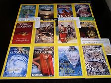 12 NATIONAL GEOGRAPHIC MAGAZINE COMPLETE SET 1999 ~ INCLUDES ALL SUPPLEMENTS