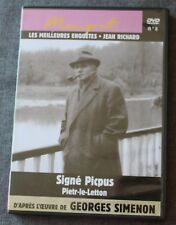 Jean Richard, Maigret signé picpus & Pietr le letton, DVD N°8