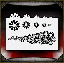 """""""Flowers"""" Airbrush Stencil Template Airsick"""