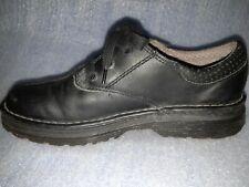 DOC DR MARTENS Nevin Lace Up Oxford Shoes Black Leather Men's US 10