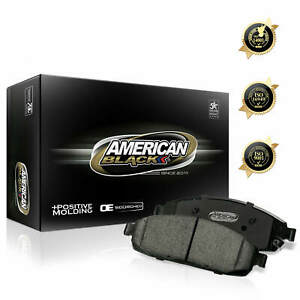 American Black Rear Brake Pads for Acura MDX / ZDX / Honda Odyssey / Pilot