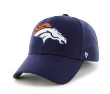 aa24353ad84bf2 NFL Denver Broncos Adult OSFM '47 Brand MVP Adjustable Hat