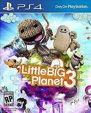 Little Big Planet 3 Sony PlayStation 4 Day 1 One Edition PS4 Kids Adventure Game