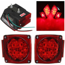 2X LED Submersible Square Lights Trailer Under 80