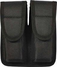 Molded Dual Magazine Pouch Enhanced - Black - Rothco 20572