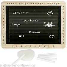 Schiefertafel Schreibtafel Tafel  Holzrahmen Schultafel Neu 30x22cm mit Linien