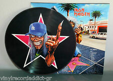 IRON MAIDEN - LA KILLERS LIVE IN LOS ANGELES '99 PIC LP PICTURE DISC W CVR RARE